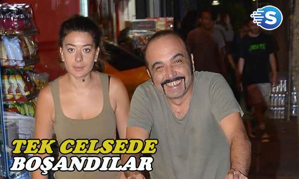 Ünlü oyuncu Ayhan Taş eşinden boşandı