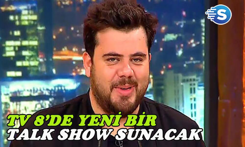 Eser Yenenler TV 8'de yeni bir talk show programı sunacak