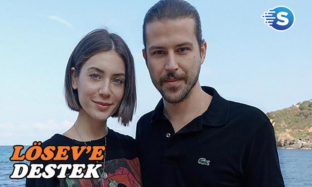 Fulya Zenginer ve sevgilisi'nden LÖSEV'e anlamlı destek