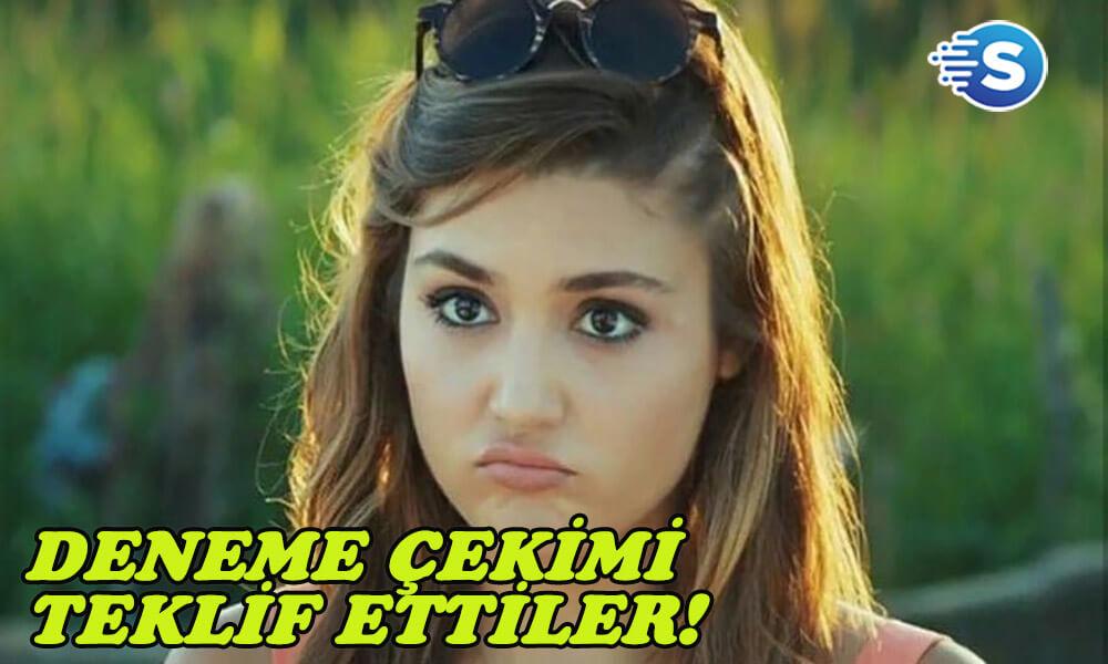 Hande Erçel, Halka dizisinden gelen 'deneme çekimi' teklifine sinir oldu!