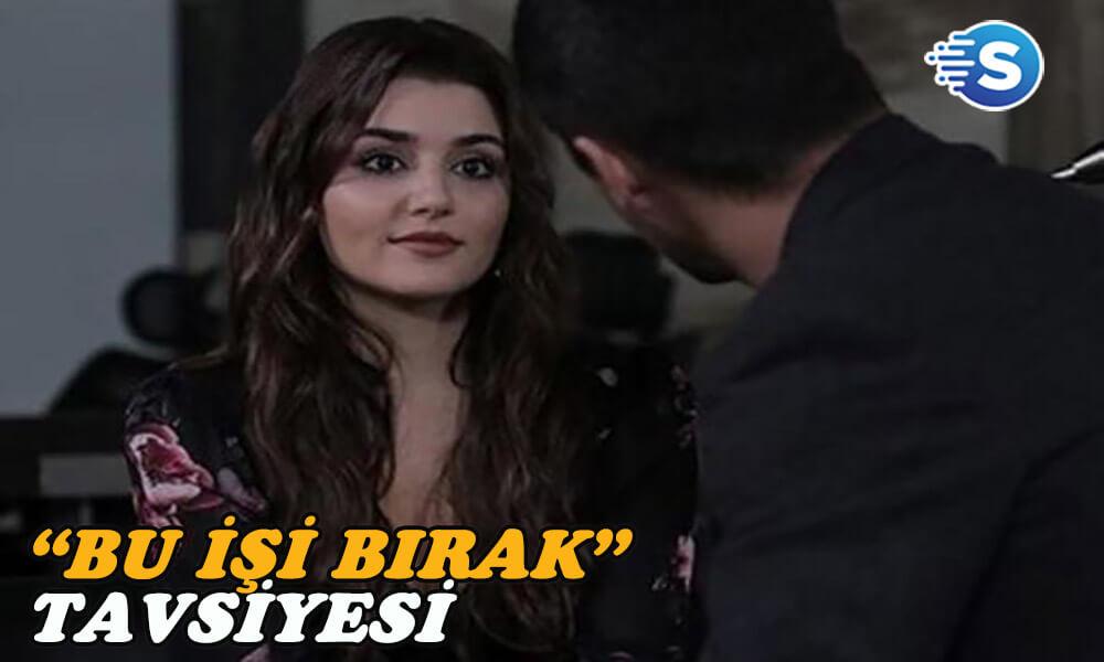 Cengiz Semercioğlu'ndan Hande Erçel'e oyunculuğu bırak tavsiyesi