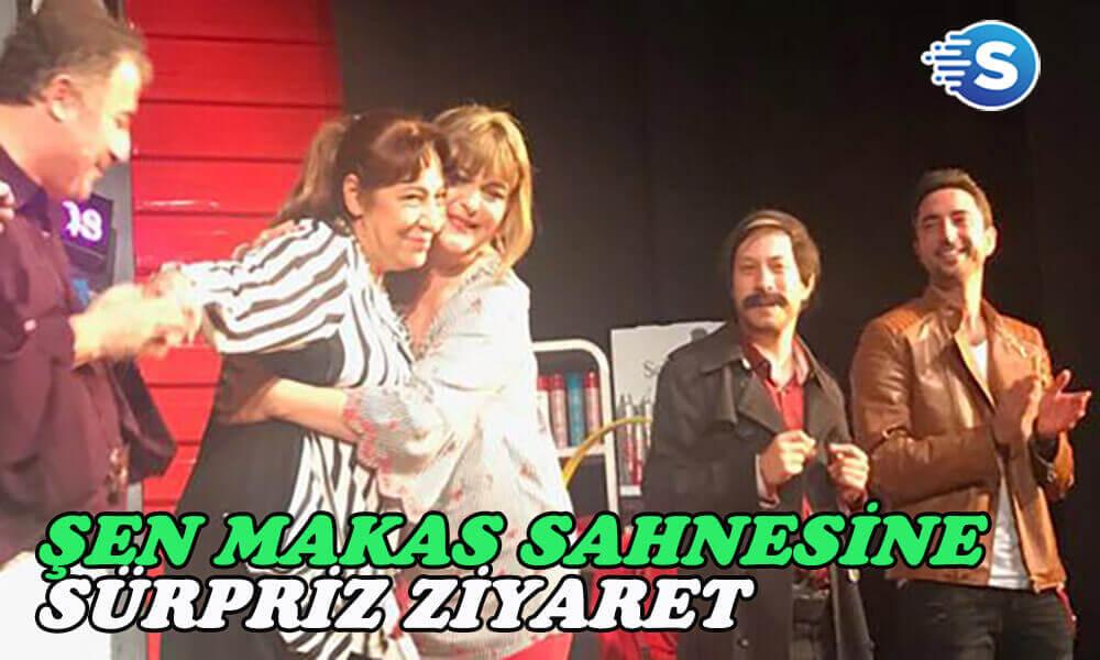 Melek Baykal'dan Şen Makas ekibine sürpriz