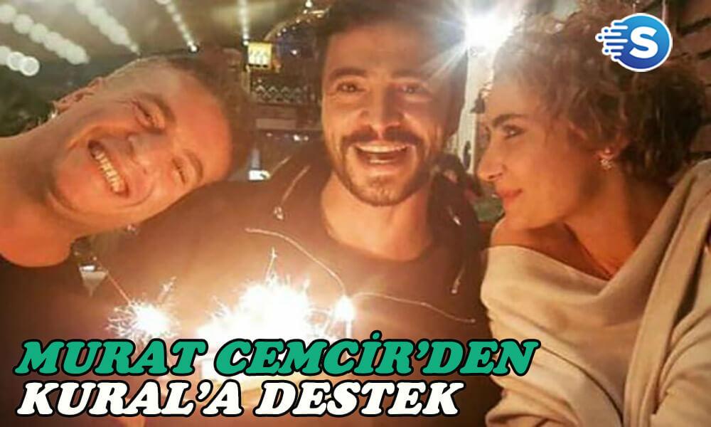 Murat Cemcir partneri Ahmet Kural için nasıl bir tepki verdi?