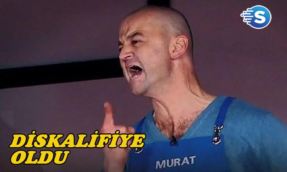 Murat Öztürk, Masterchef programından diskalifiye oldu