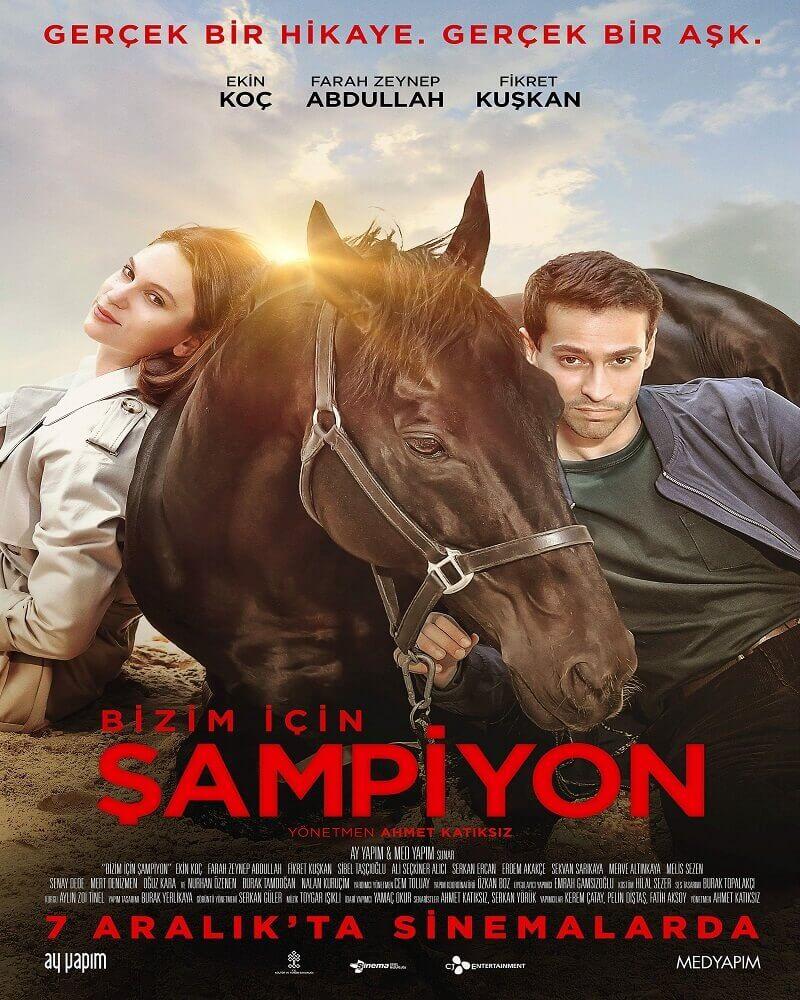 şampiyon film afişi
