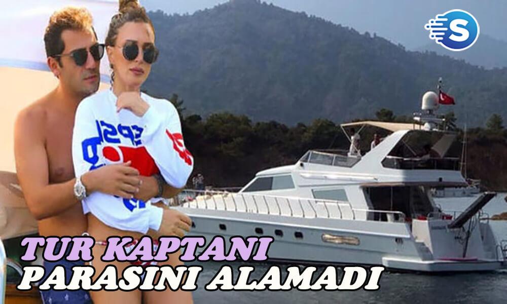 Seren Serengil ve Yaşar İpek tur kaptanına borç mu taktı?