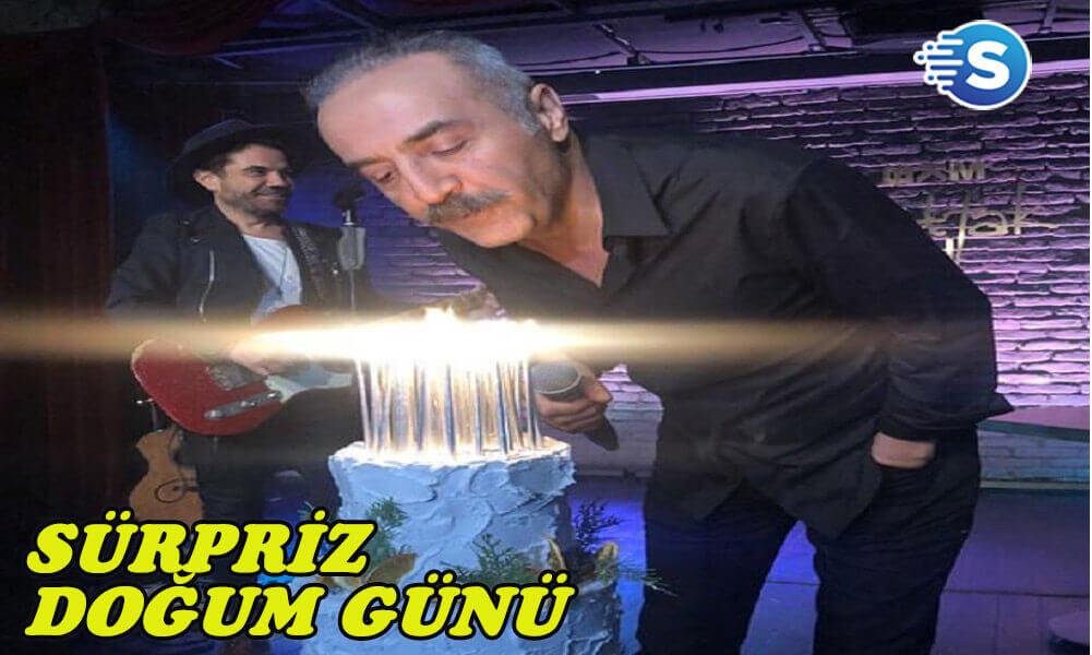 Yılmaz Erdoğan'a sürpriz doğum günü